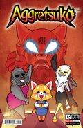 Aggretsuko Comic Issue3 CoverB
