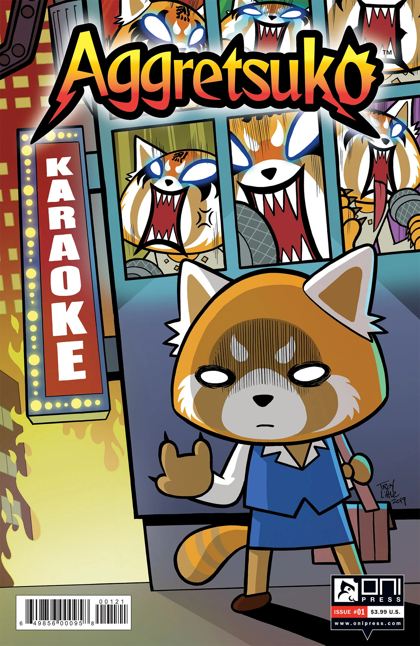 Aggretsuko Comic Issue1 CoverB.jpg