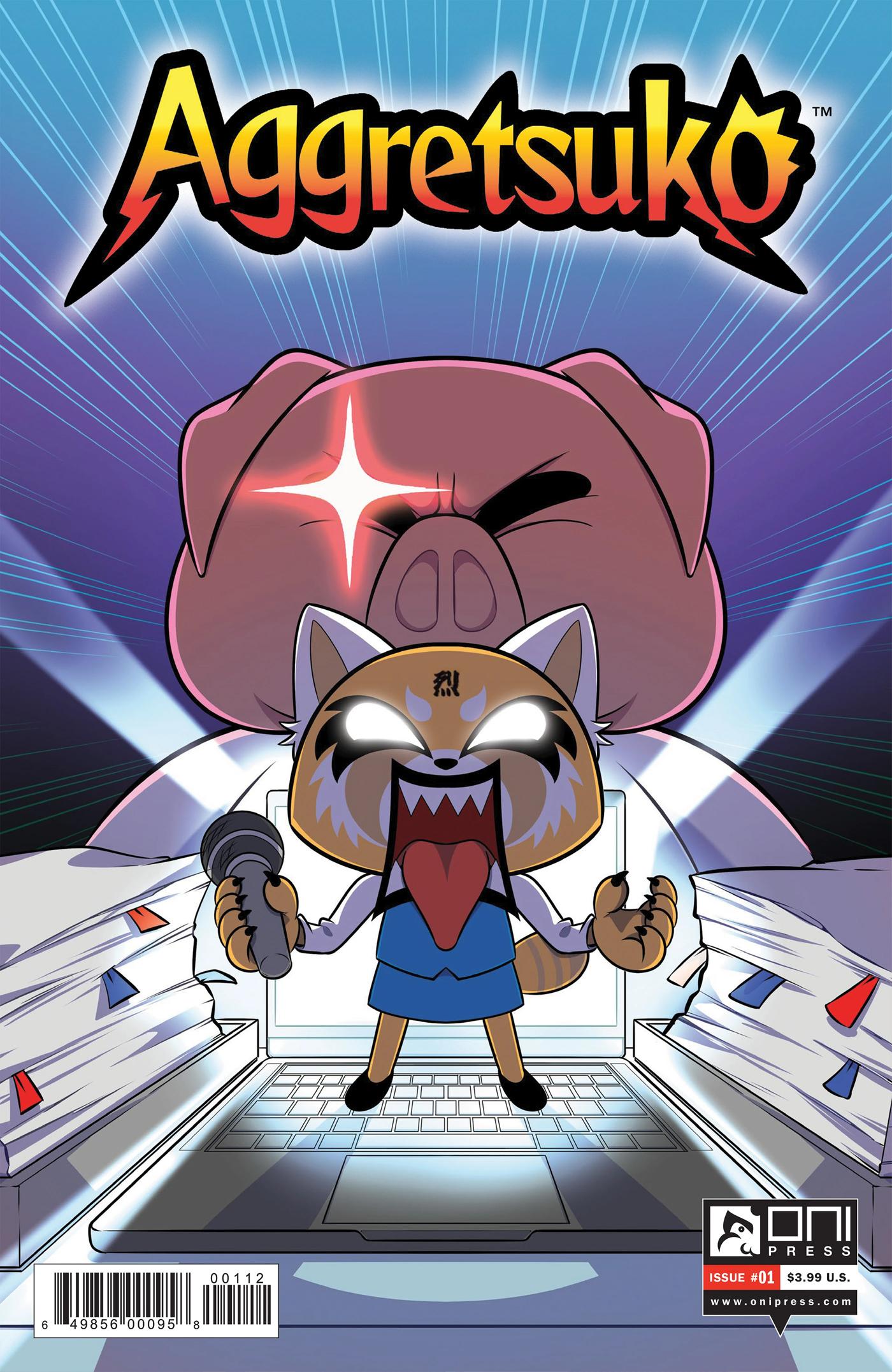 Aggretsuko Comic Issue1 2ndPrint.jpg