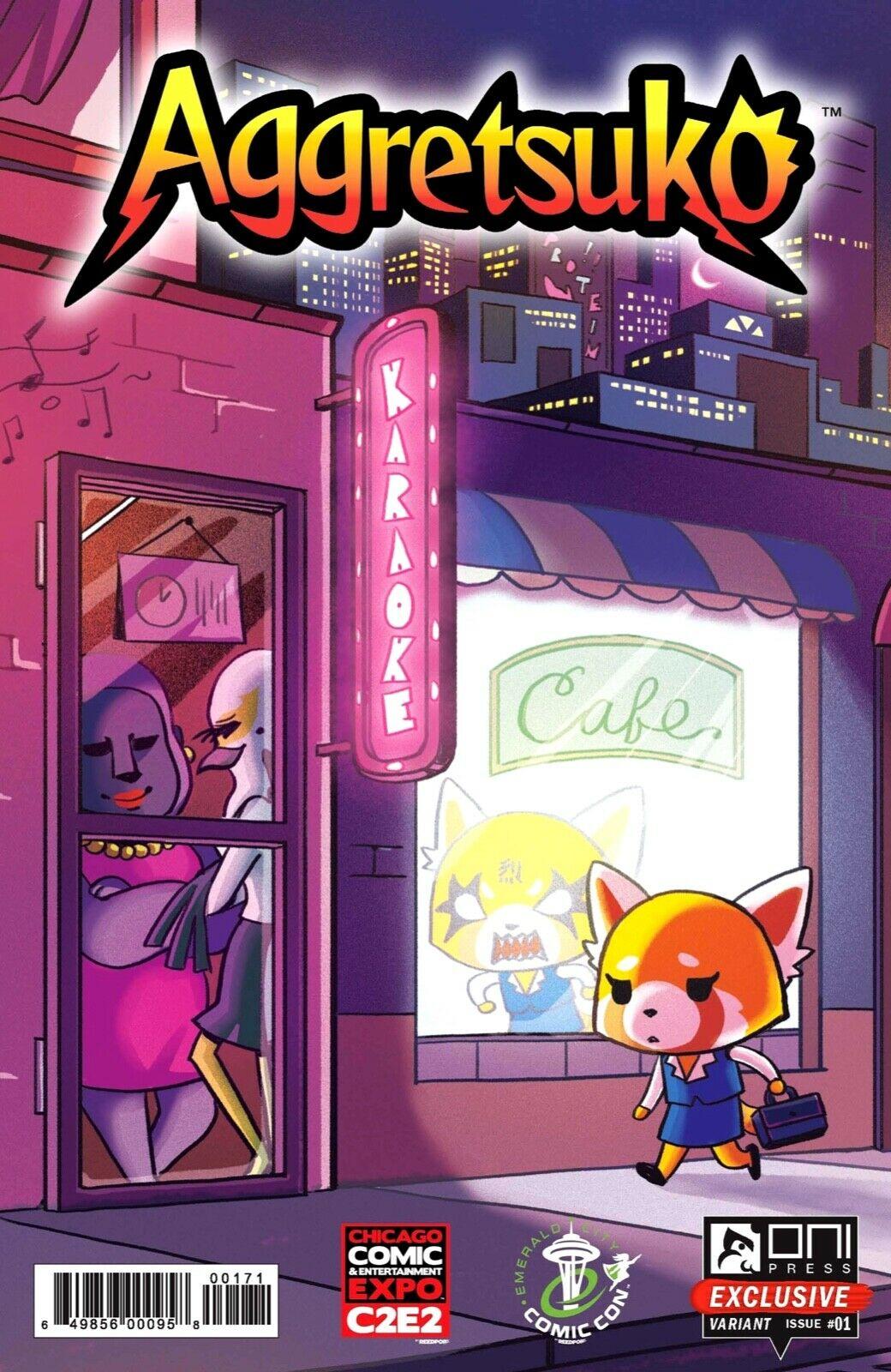 Aggretsuko Comic Issue1 CoverG.jpg