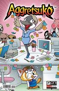 Aggretsuko Comic Issue3 CoverA