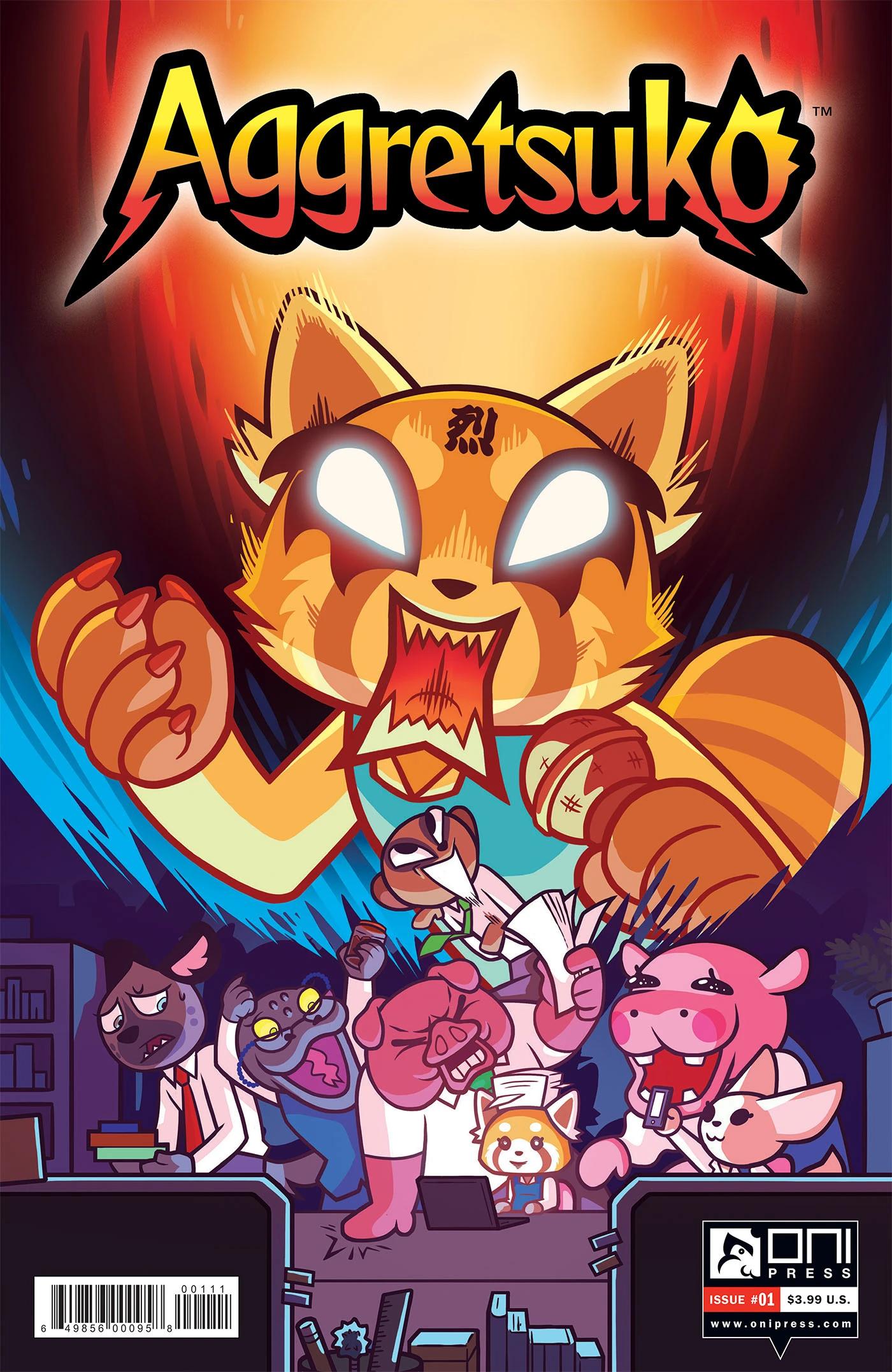 Aggretsuko Comic Issue1 CoverA.jpg