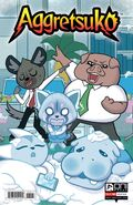 Aggretsuko Comic Issue5 CoverA