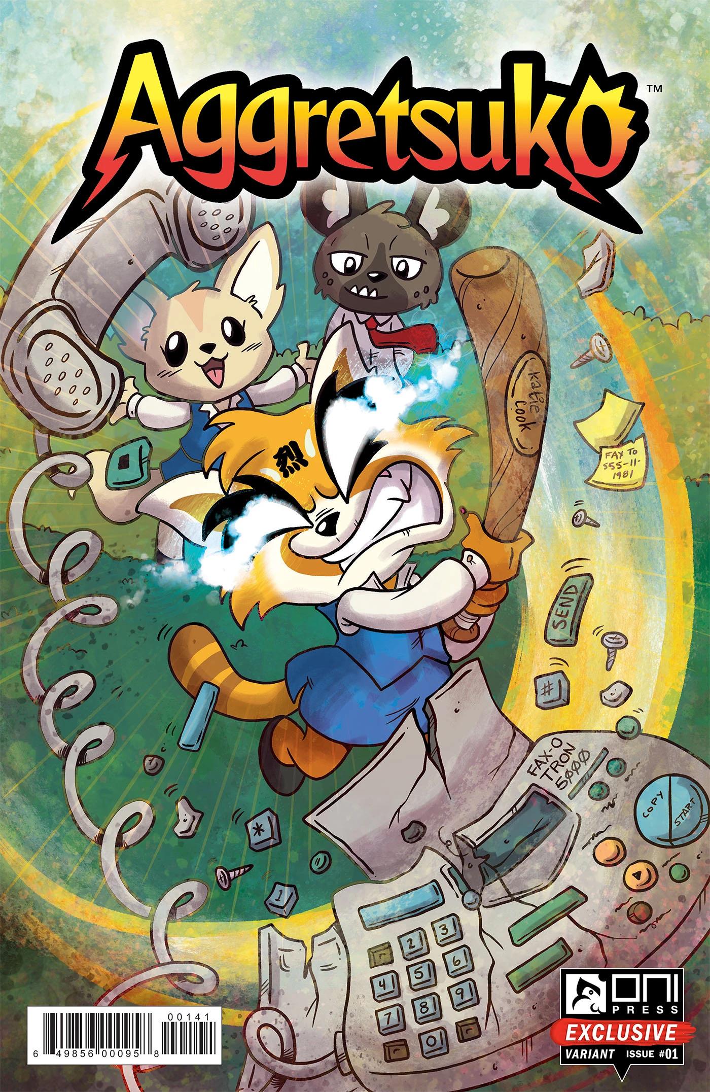 Aggretsuko Comic Issue1 CoverD.jpg
