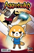 Aggretsuko Comic Issue1 CoverF