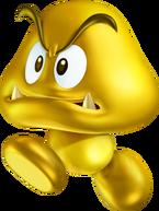 Gold Goomba Artwork - New Super Mario Bros. 2.png