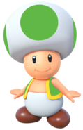 Super mario greeny the green toad 3d by joshuat1306 dcqja2o-fullview