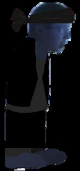 Leopold Slikk As A Ninja Sprite NoArms