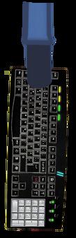 Leopold Slikk Sprite Arm Holding Power KeyboardHD