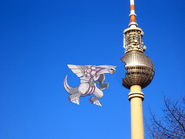 Palkia Looks at the destroyed Fernsehturm