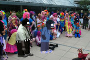 AGK and AGK's Dad on MLP Convention