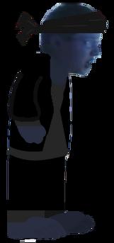 Leopold Slikk As A Ninja Sprite