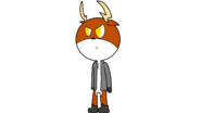 Logan the Deer Angry