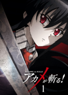 Akame ga Kill Vol. 1 Blu-ray (Japan)