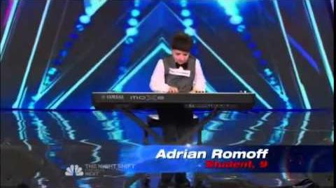 America's Got Talent 2014 Adrian Romoff 9 Auditions 1
