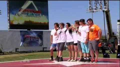 America's Got Talent 2015 Godfrey Clan Auditions 6