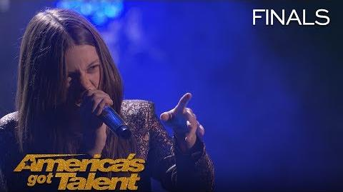 "Courtney Hadwin Sensational Singer Rocks ""River Deep Mountain High"" - America's Got Talent 2018"