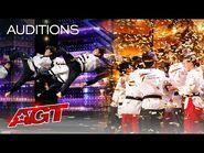 Golden Buzzer- World Taekwondo Demonstration Team Shocks the Judges - America's Got Talent 2021