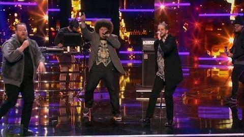 America's Got Talent 2016 Not A Good Day For Adult Rappers Full Judge Cuts Clip S11E09