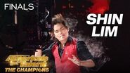 Shin Lim Magician Baffles Judges With Incredible Card Magic - America's Got Talent The Champions