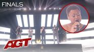 """Military Members Voices of Service STUN With """"Footprints In The Sand"""" - America's Got Talent 2019"""