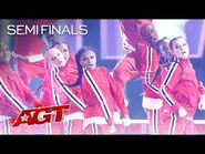 """UNBELIEVABLE Dance Crew Chapkidz Performs to """"Gasolina"""" and """"Con Calma"""" - America's Got Talent 2021"""