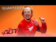 Keith Apicary Brings His Most DANGEROUS Performance to AGT - America's Got Talent 2021