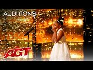 Golden Buzzer- 9-Year-Old Victory Brinker Makes AGT HISTORY! - America's Got Talent 2021