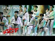 World Taekwondo Demonstration Team Delivers a Jaw-Dropping Performance - America's Got Talent 2021