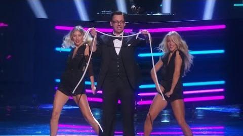 America's Got Talent 2015 S10E25 Finals - Derek Hughes Comedic Magician Full Video