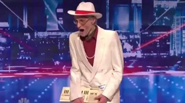 Burton_Crane,_77,_Auditions_New_York_~_America's_Got_Talent_2012