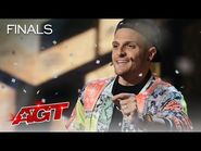 Dustin Tavella INSPIRES The Crowd With Incredible Magic - America's Got Talent 2021