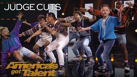 The Future Kingz Chicago Dance Crew Delivers Legendary Throwback Swag - America's Got Talent 2018