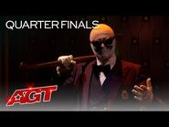 Klek Entos TERRIFIES The Judges With HAUNTING Act - America's Got Talent 2021