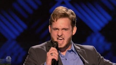 America's Got Talent 2016 Crooner Daniel Joyner Full Judge Cuts Clips S11E10