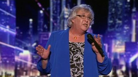 America's Got Talent 2016 Julia Scotti 63 Y.O