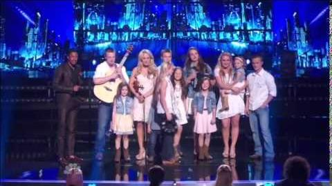 America's Got Talent 2014 The Willis Clan Quarterfinal 1