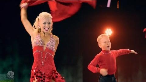 America's Got Talent 2016 Dancers Alla & Daniel Novikov Full Judge Cuts Clips S11E10