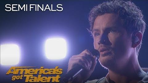 """Michael Ketterer Inspiring Father Delivers """"When I Look At You"""" - America's Got Talent 2018"""