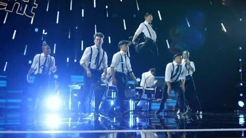 America's Got Talent 2015 S10E10 Judge Cuts - The Squad Dance Troupe