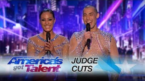 Junior & Emily Sibling Duo Breaks It Down To Chainsmokers Remix - America's Got Talent 2017