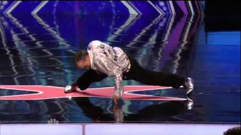 America's Got Talent 2015 Ronnie Alampour Auditions 2