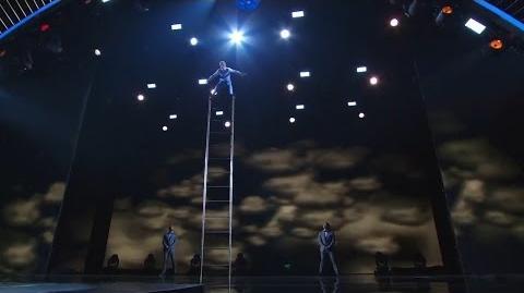 America's Got Talent 2015 S10E17 Live Shows - Uzeyer Novruzov Classic Acrobat Stage Performer