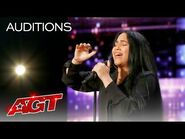 """Jayy Sings an Emotional Rendition of """"Lost Without You"""" by Freya Ridings - America's Got Talent 2021"""