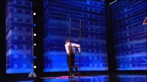 America's Got Talent 2015 Uzeyer Novruzov Auditions 4