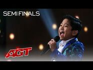 """Peter Rosalita Sings an Amazing Cover of """"Without You"""" by Mariah Carey - America's Got Talent 2021"""