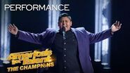 "Teenager Luke Islam Sings ""Ashes"" By Celine Dion Impeccably - America's Got Talent The Champions"