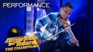 """Tyler Butler-Figueroa Performs """"The Git Up"""" by Blanco Brown! - America's Got Talent The Champions"""