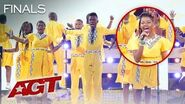 "Ndlovu Youth Choir Puts South African Spin On ""Africa"" by Toto - America's Got Talent 2019"