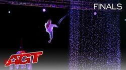 Alan Silva Will Make Your Jaw Drop With His UNBELIEVABLE Aerial - America's Got Talent 2020